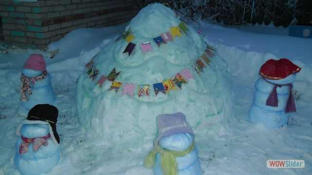 Зимние участки детского сада «Родничок» р. п. Мокшан