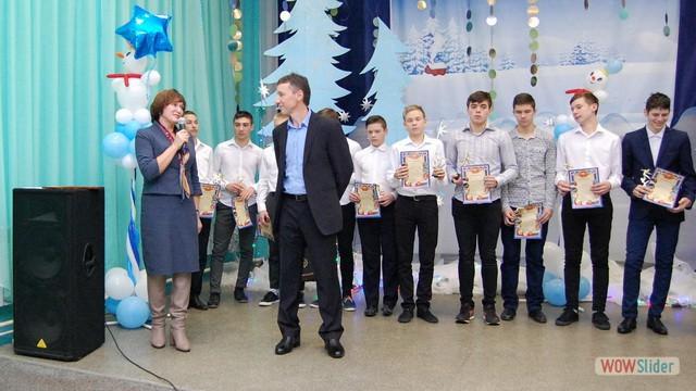 Награждение лучших футболистов общероссийского проекта Мини-футбол в школу