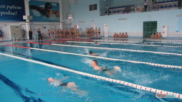 Соревнования по плаванию, посвященные Герою России, летчику-космонавту А.М. Самокутяеву.