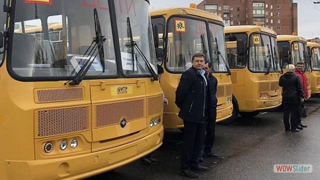 В школу №1 р. п. Мокшан поступил новый автобус