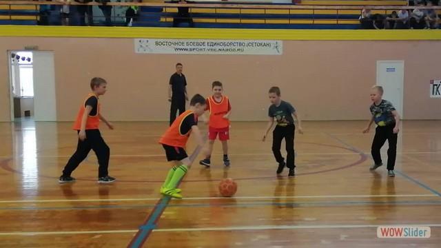 Районные соревнования по мини-футболу среди команд основных школ