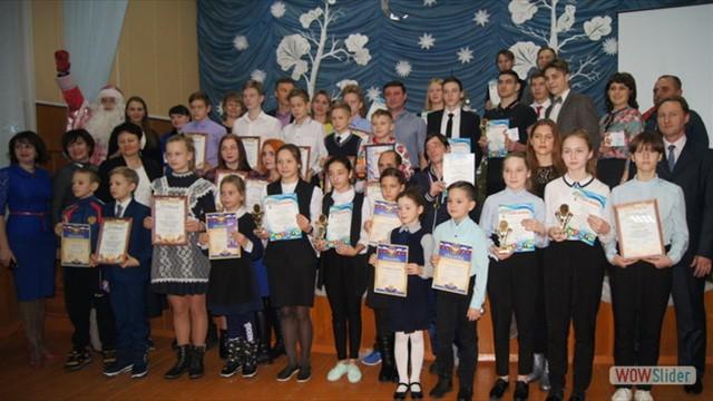 Торжественная церемония награждения лучших спортсменов района по итогам года в ДШИ р.п.Мокшан